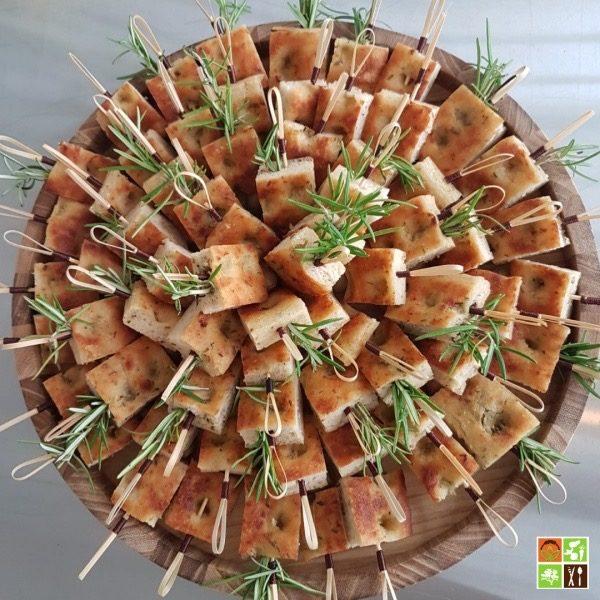 Focaccia au romarin sans gluten