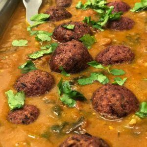 Vegan Meat Balls Cajun